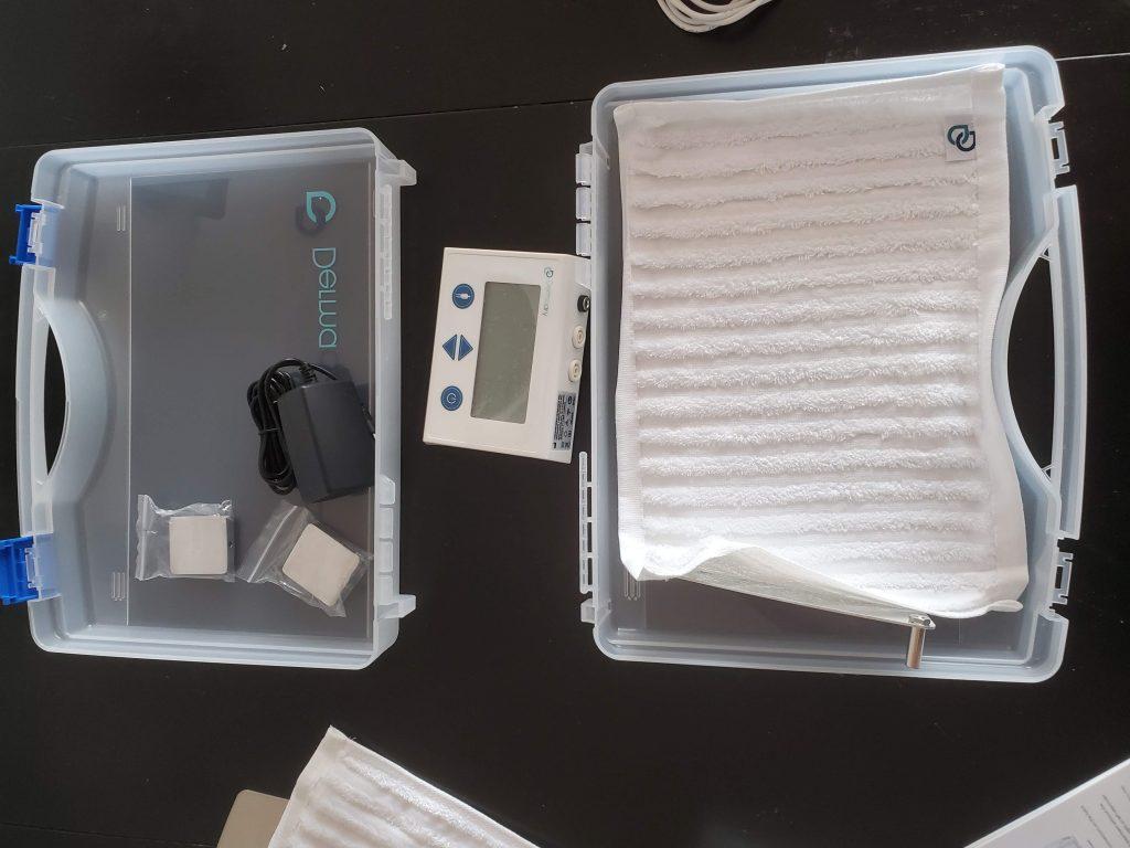 Dermadry iontophoresis machine contents