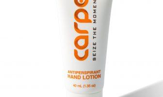 Carpe Antiperspirant Lotion for swaty palms