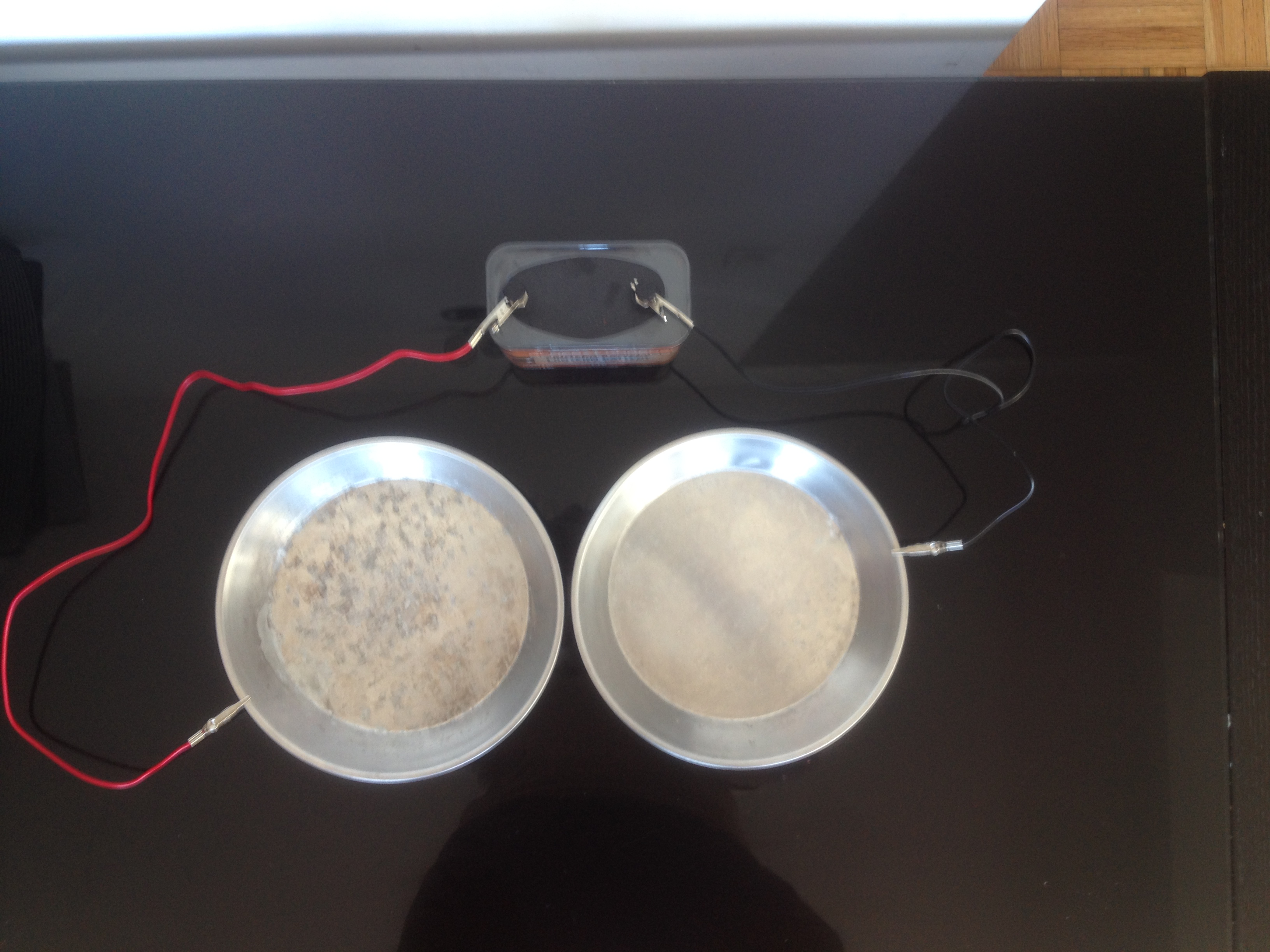 Homemade Iontophoresis Machine