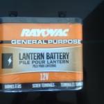 Homemade Iontophoresis Machine - 12 Volt Battery