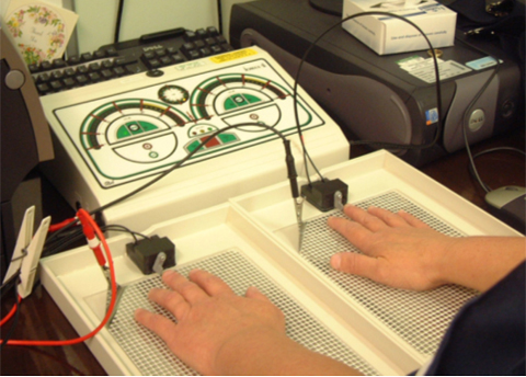 drionic iontophoresis machine