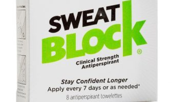 Sweatblock Review - Pack of 8