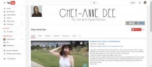 Chey Ann Dee YouTube